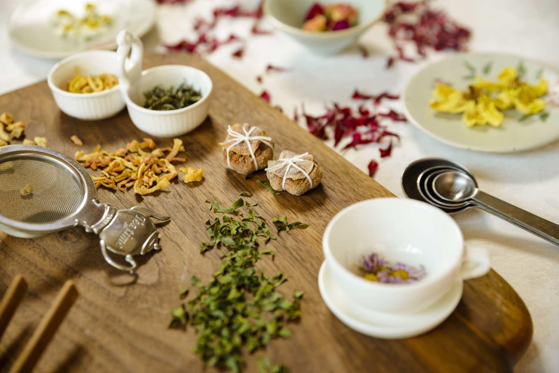 【首爾特色體驗】試飲花草茶及韓式傳統茶點製作體驗