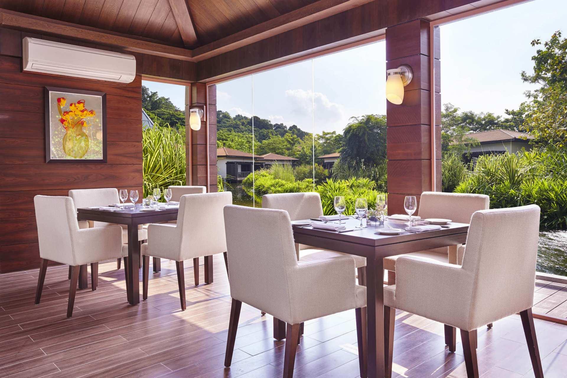 【新加坡名廚頂級餐廳】聖淘沙 Tangerine 天滋林水療餐廳