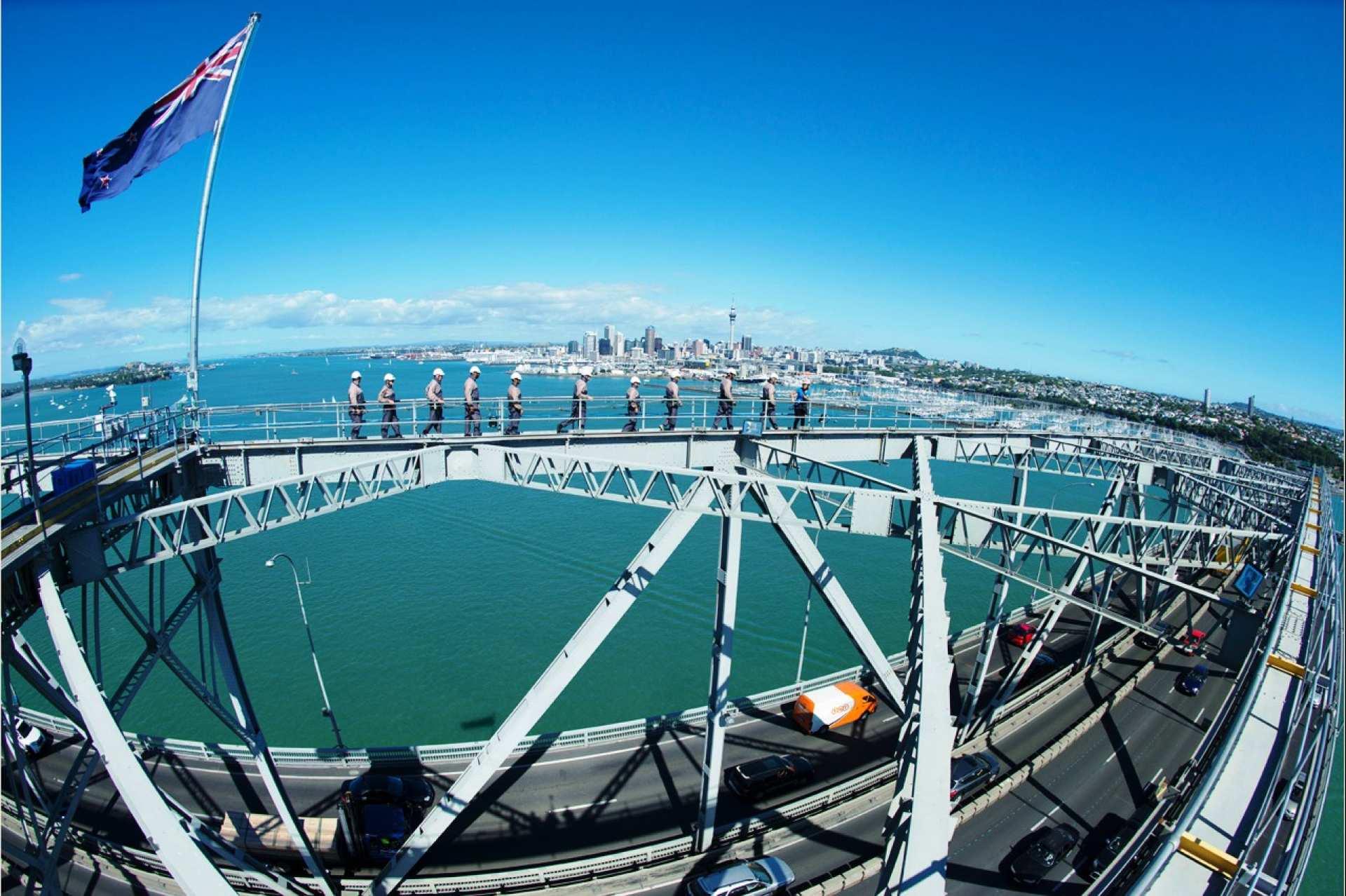【挑戰極限】奧克蘭大橋攀登體驗