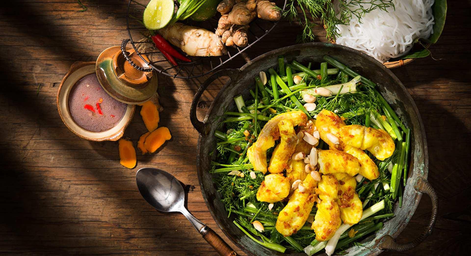 【河內當地別墅用餐】精選越南特色餐點