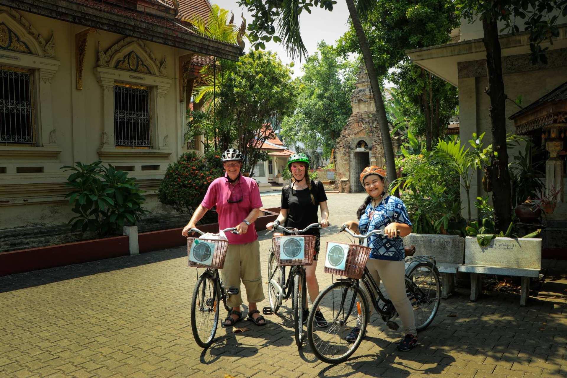 【城市自行車體驗】清邁城市單車之旅