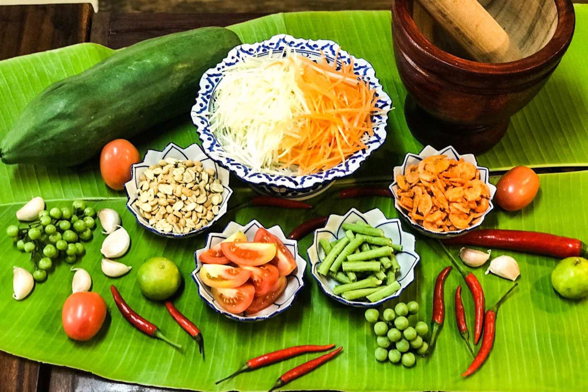 【曼谷泰式料理課程】Pink Chili 家庭烹飪課
