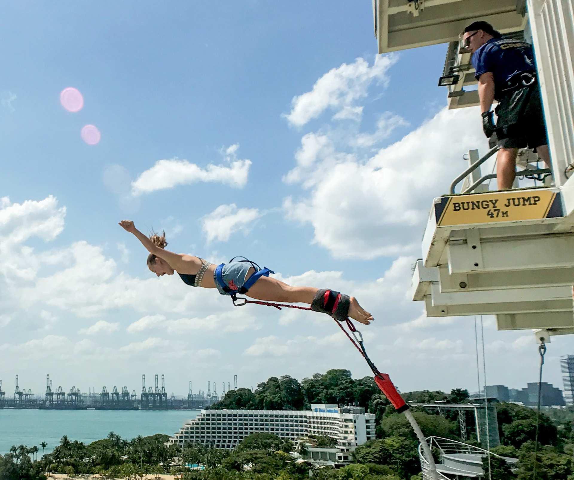 【聖淘沙新玩法】新加坡 AJ Hackett 極限運動體驗