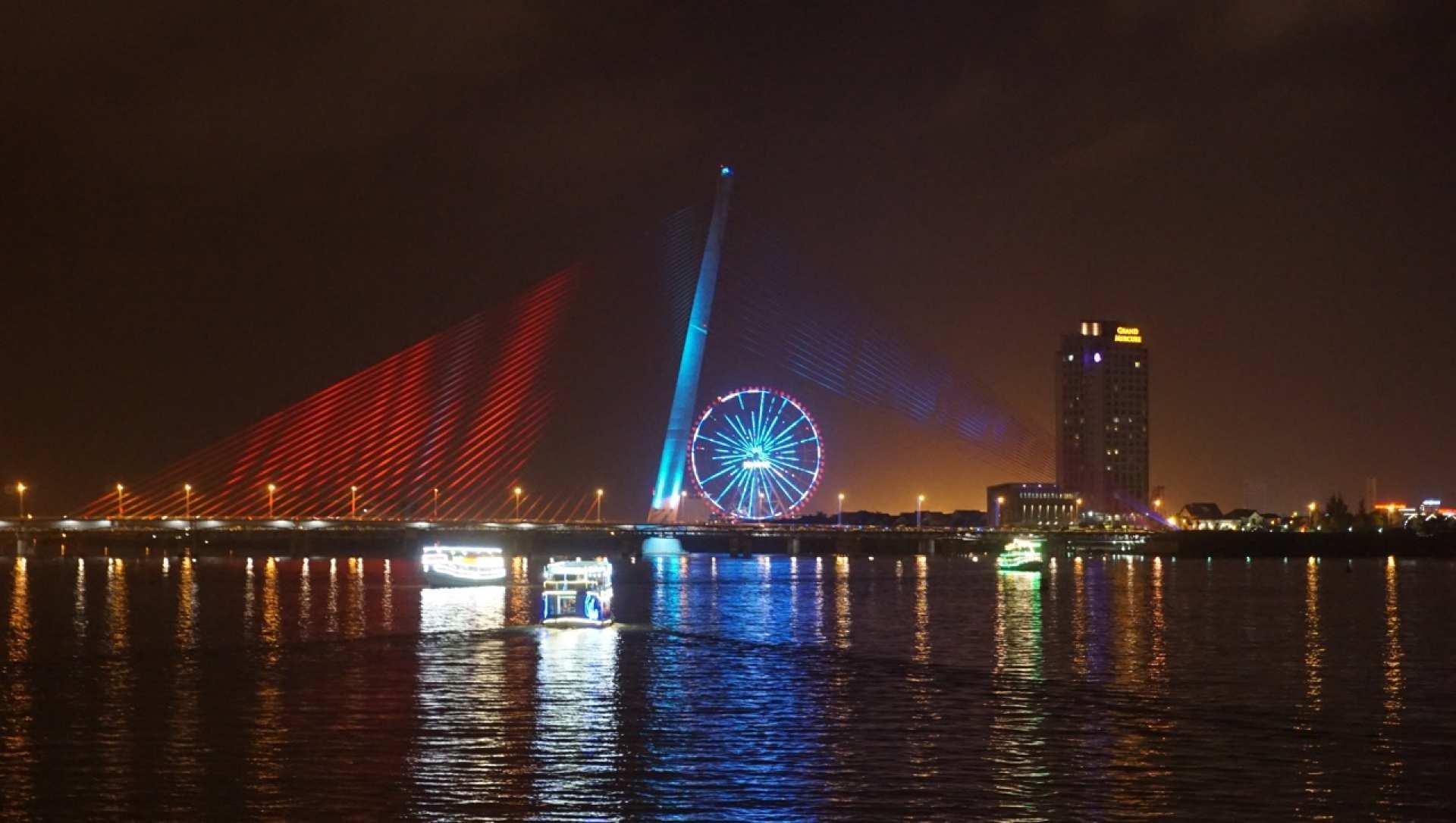 【峴港無敵夜景】夜遊瀚江(Han River)乘船票券