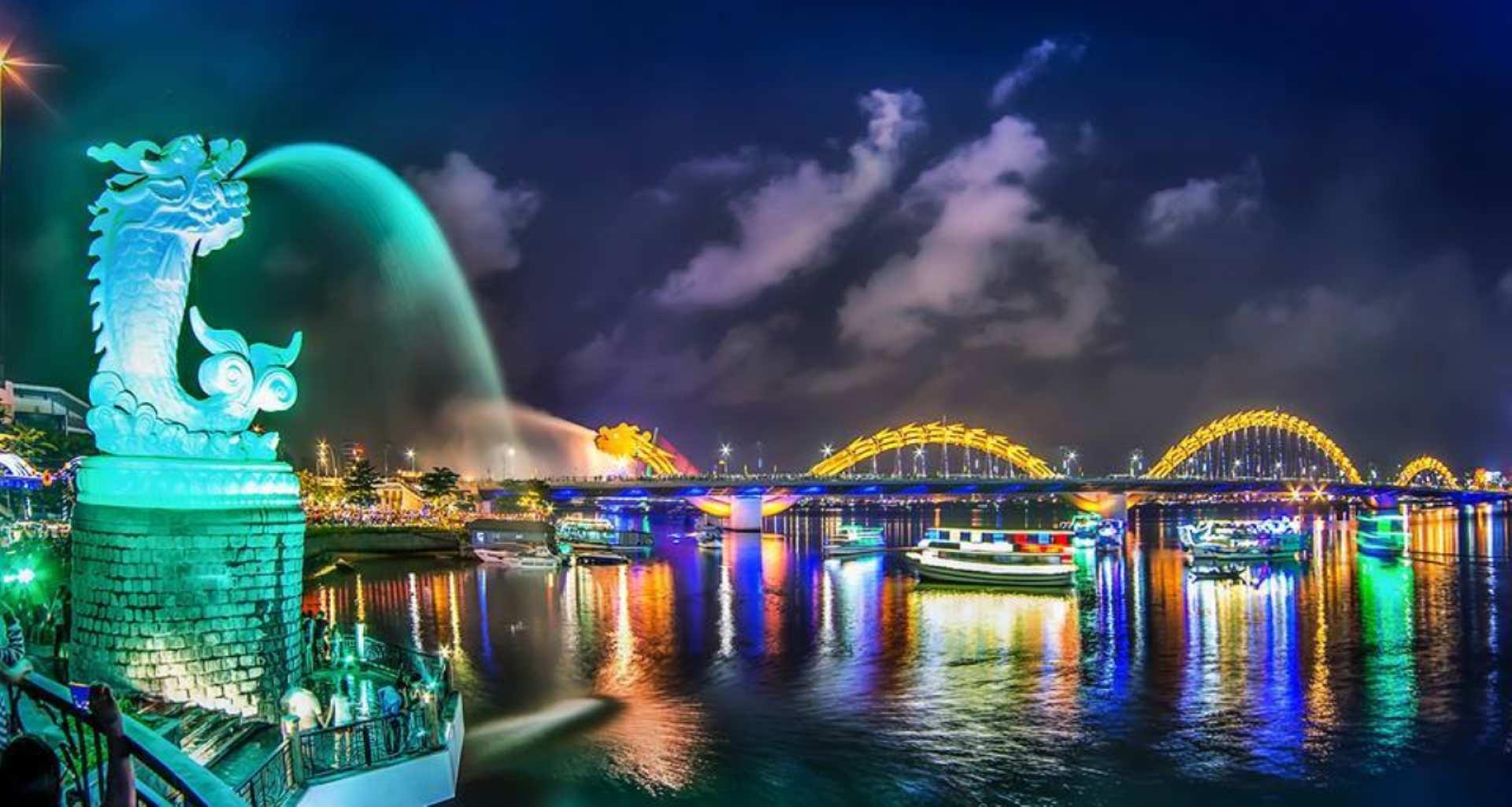 【峴港無敵夜景】乘龍船夜遊瀚江(Han River)票券