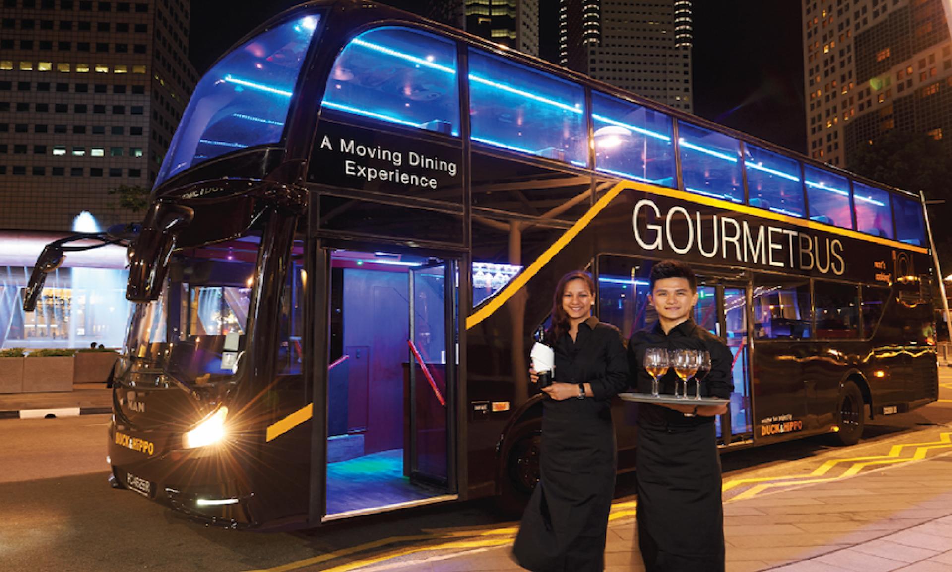 【移動的米其林必比登】新加坡 Gourmet 美食巴士