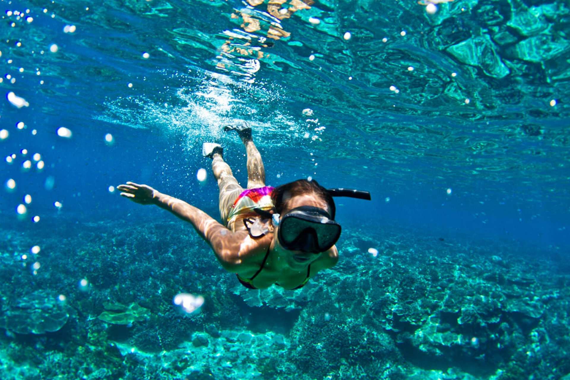 【沖繩水上活動】浮潛、拖曳傘、水上摩托車