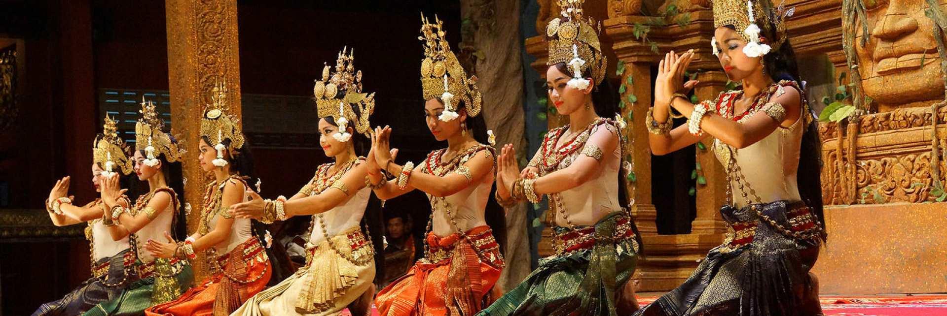 【精彩道地的柬式體驗】暹粒 Apsara 仙女舞蹈表演、自助式晚餐