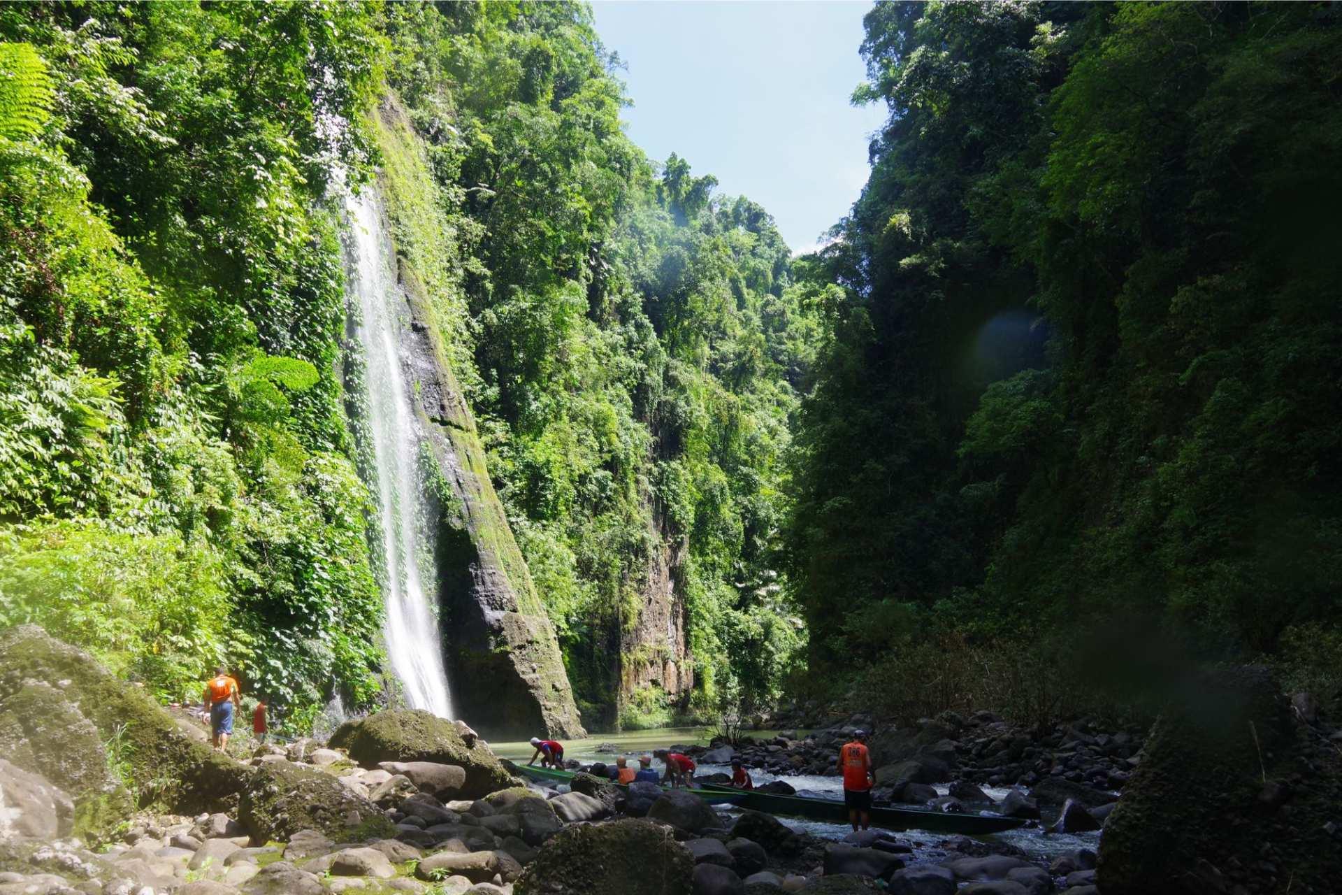 【探索馬尼拉郊區秘境】百勝灘瀑布拼團一日遊 Pagsanjan Falls