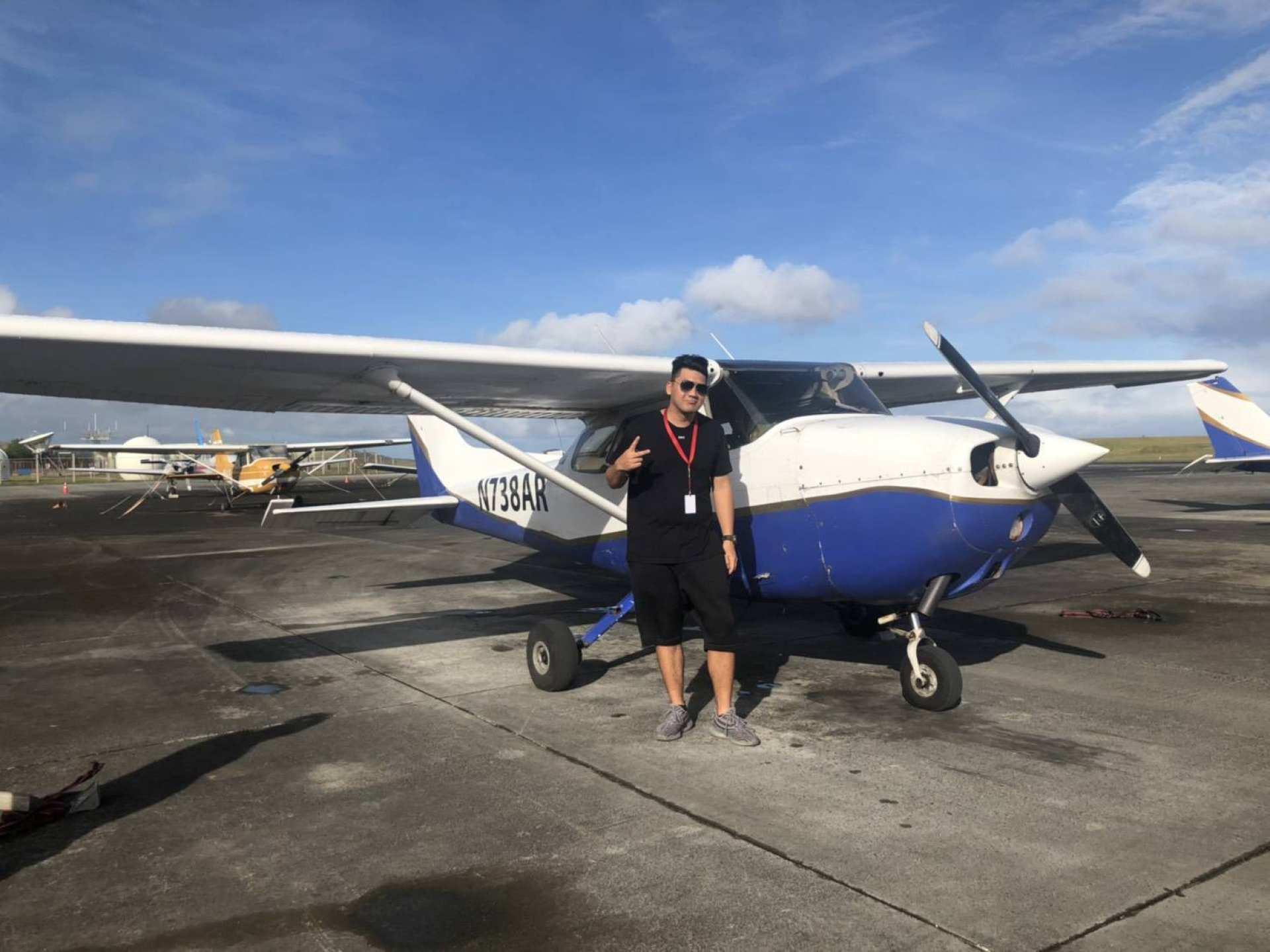 【關島陸空優惠組合】駕駛小飛機+水肺潛水體驗(免潛水執照)