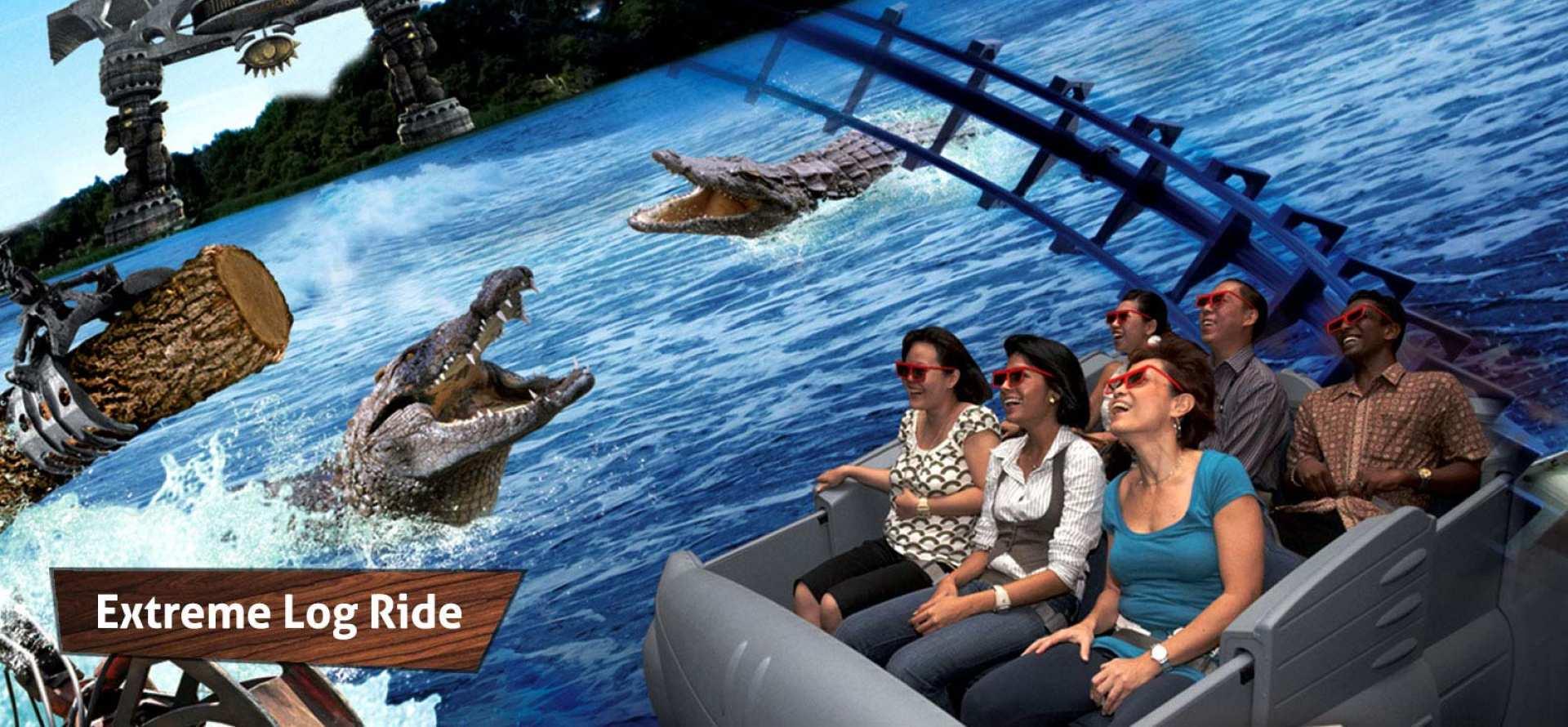 【震撼全身感官】聖淘沙 4D 探險樂園門票 Sentosa 4D Adventureland