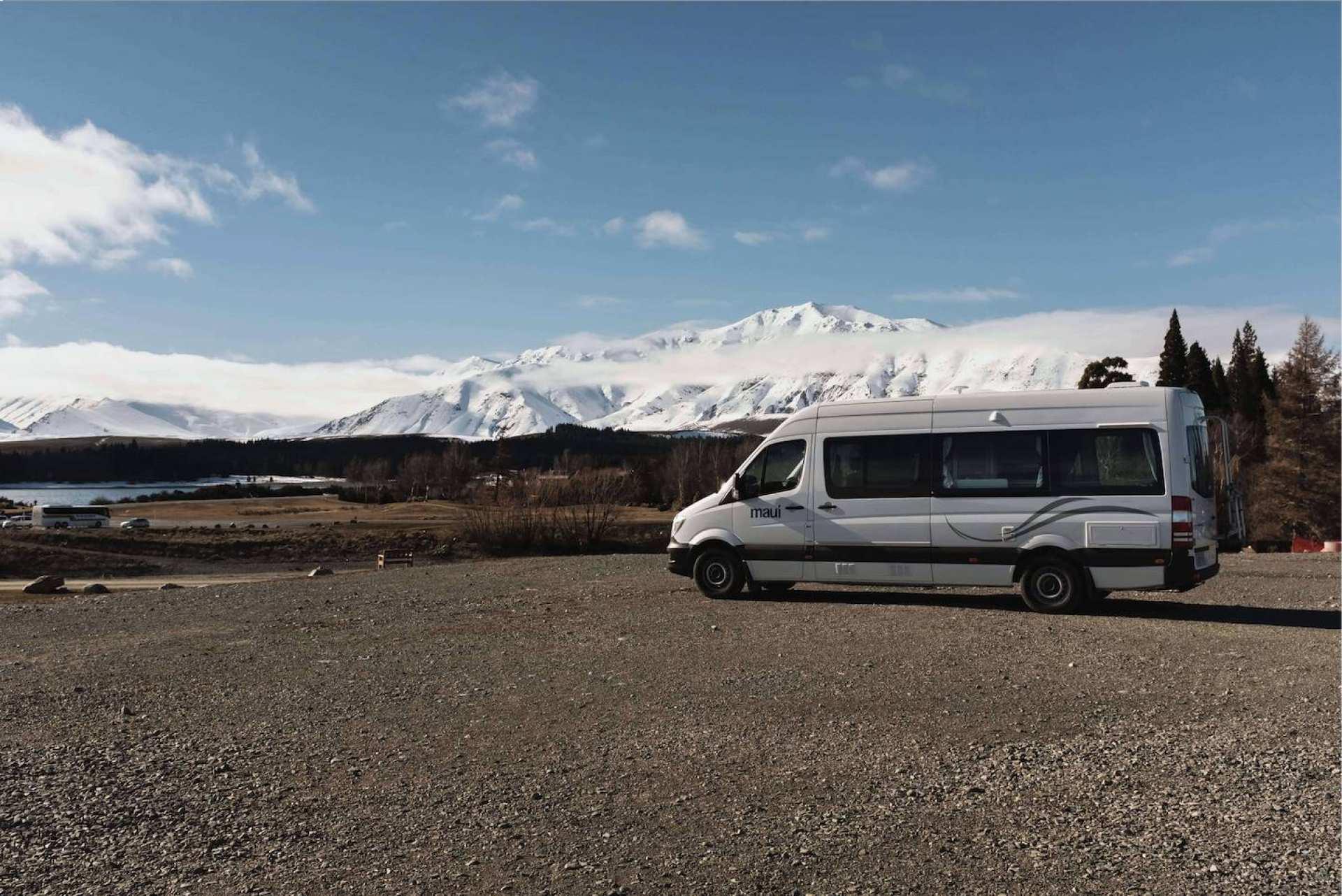 【紐西蘭租車】MAUI 兩人座至尊型露營車(奧克蘭取 / 奧克蘭還)