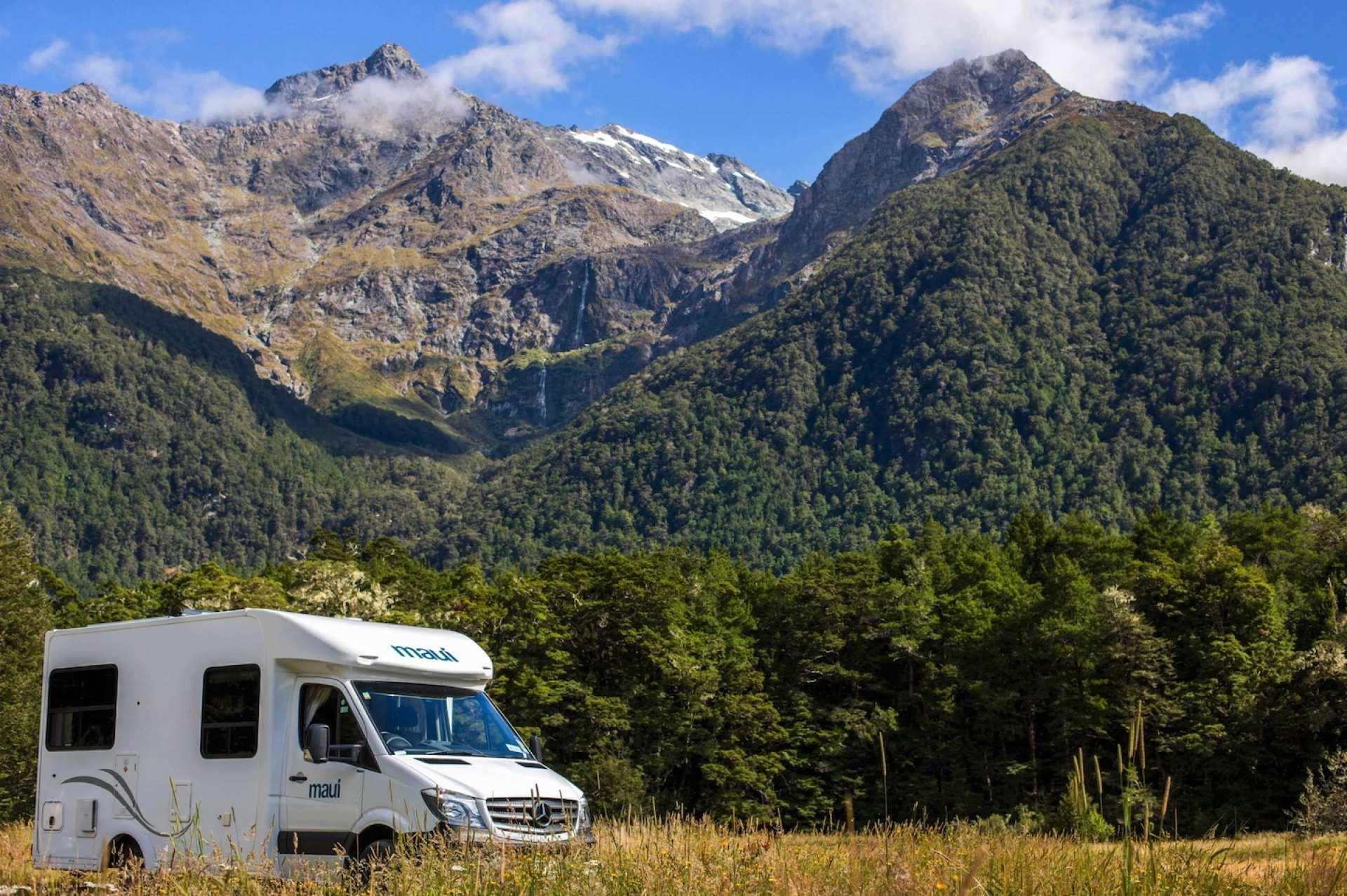 【紐西蘭租車】MAUI 四人座瀑布型露營車(基督城取 / 基督城還)