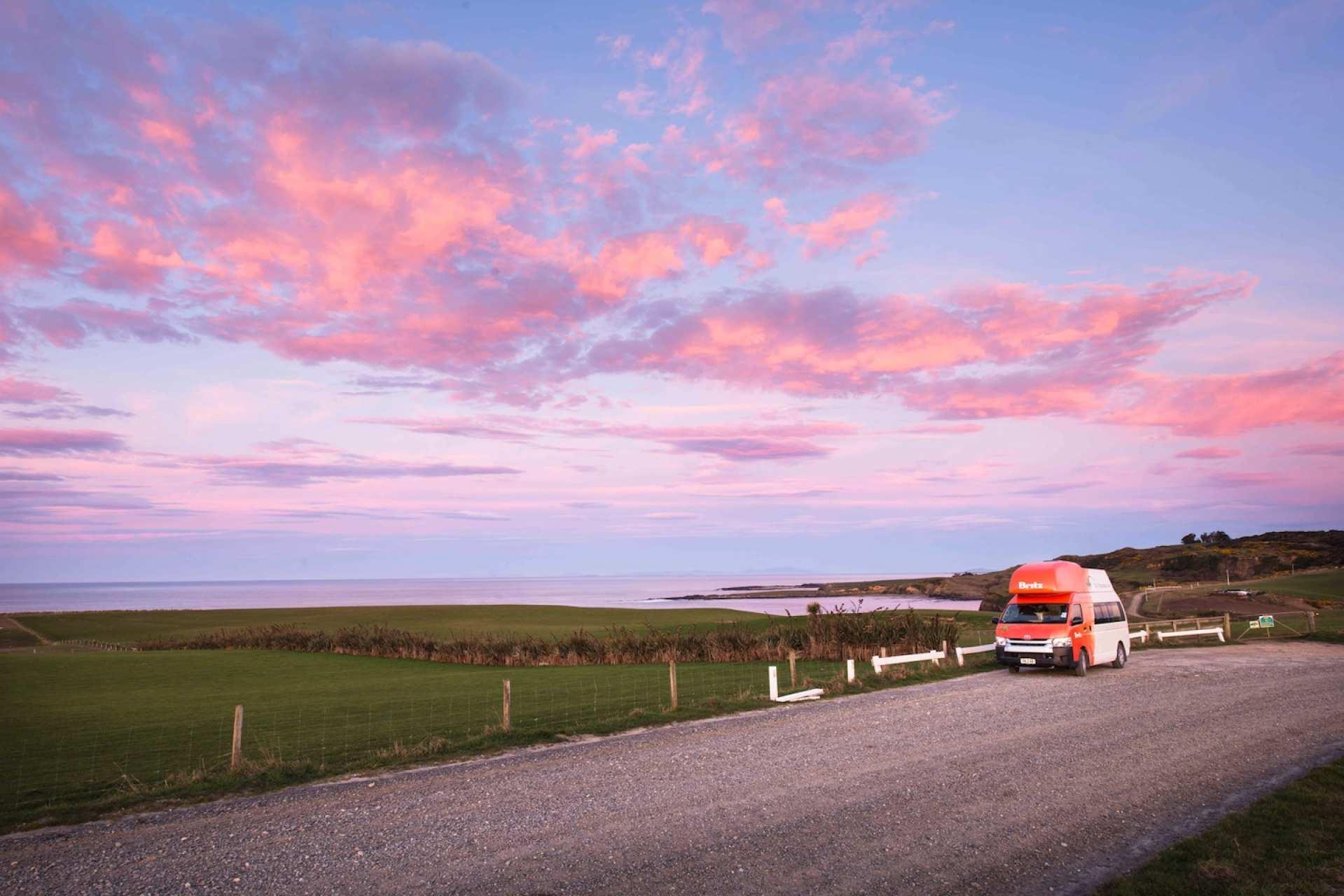 【紐西蘭租車】BRITZ 四人座航海家型露營車(奧克蘭取 / 奧克蘭還)
