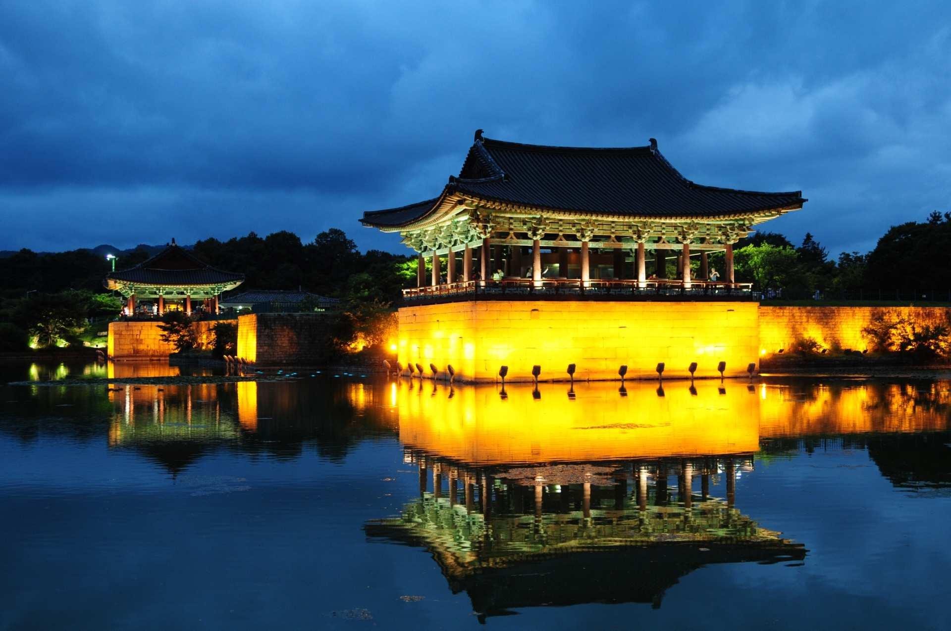 【慶州夜景之旅】東宮與月池、瞻星臺、雞林、月精橋(步行導覽)