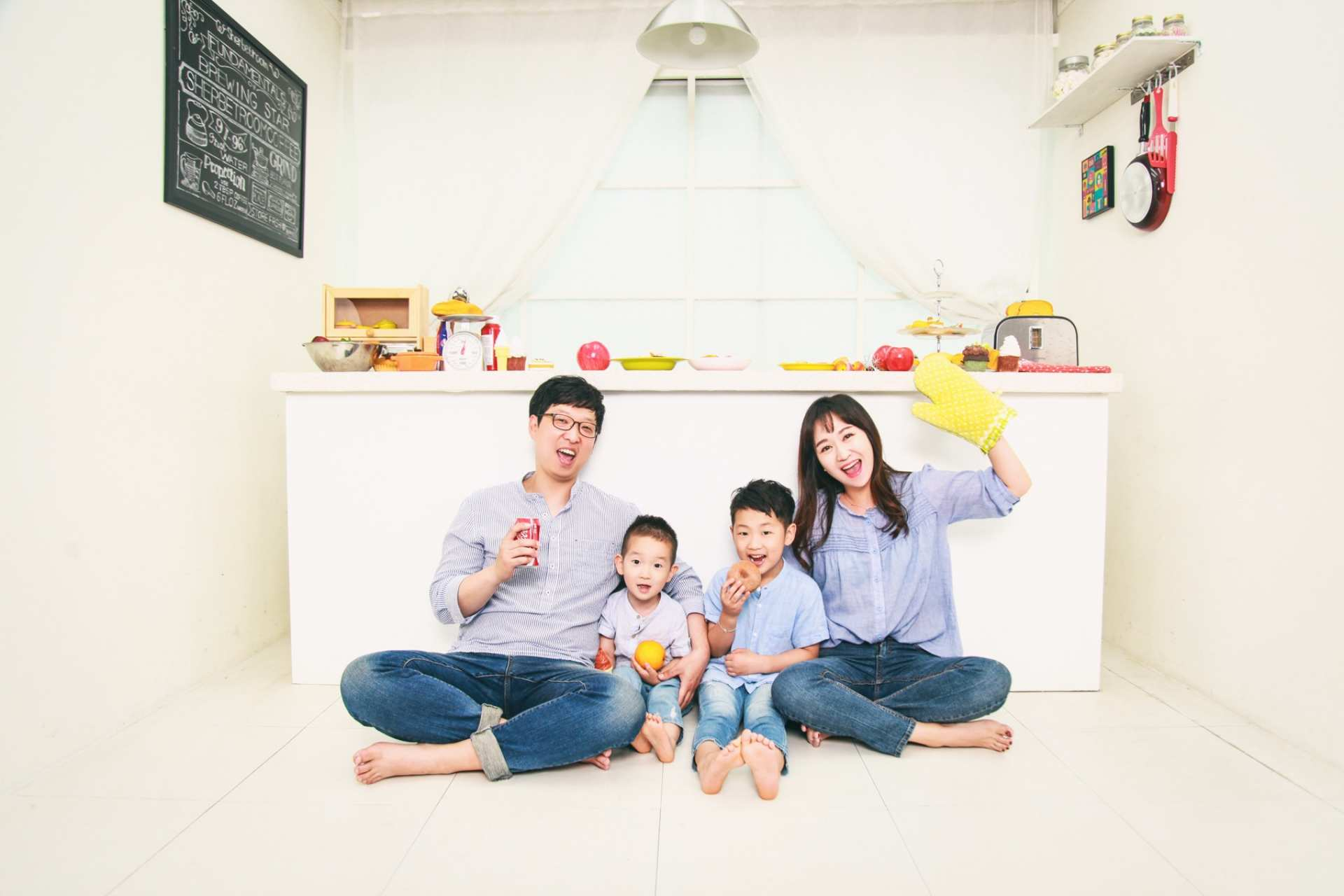 【首爾特色棚拍】SHERBETROOM 家族照攝影體驗