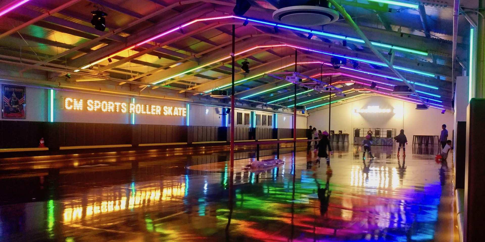 【慶州人氣休閒體驗】慶州CM sport town滑輪溜冰場