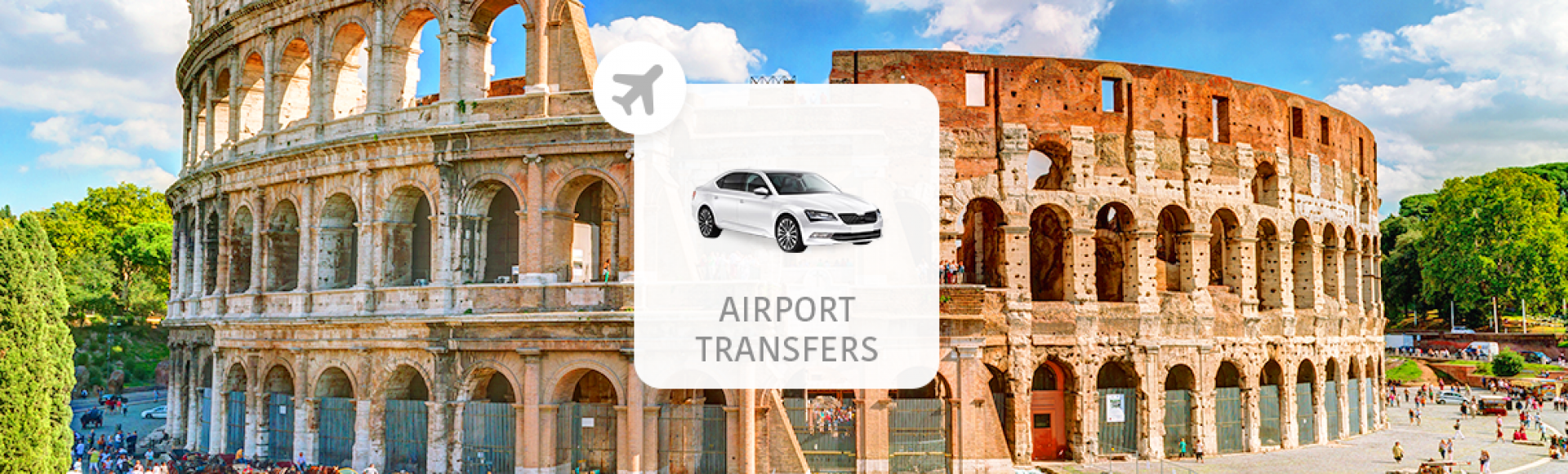 【羅馬機場接送】錢皮諾機場 (CIA) - 羅馬市區(含接機舉牌服務)
