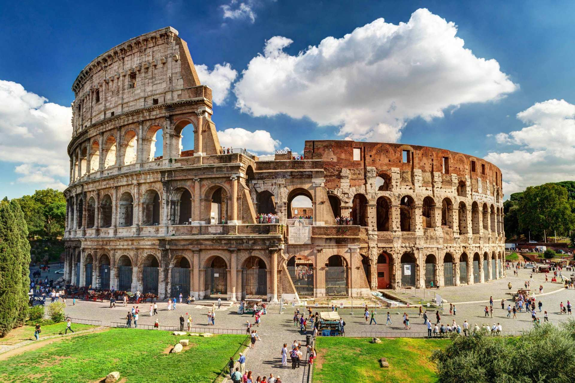 【精緻中 / 英語小團免排隊套票】羅馬競技場、古羅馬廣場、帕拉提諾之丘半日遊(保證出團)