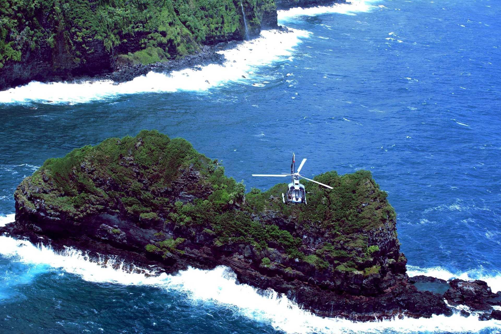 【夏威夷直升機】茂宜島直升機體驗+雨林探索(含飯店接送)