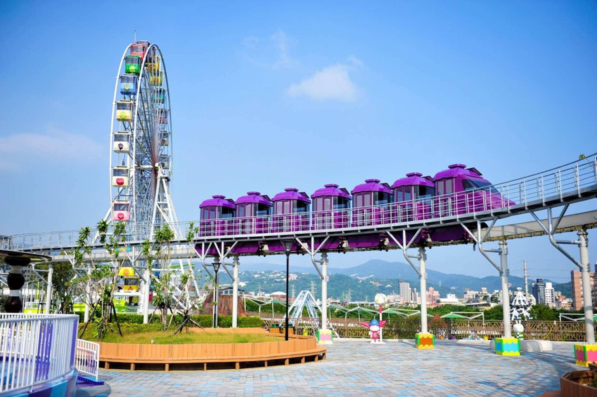 【オンライン限定価格】台北・士林 台北チャイルドアミューズメントパーク(台北市立兒童新樂園) 1日チケット