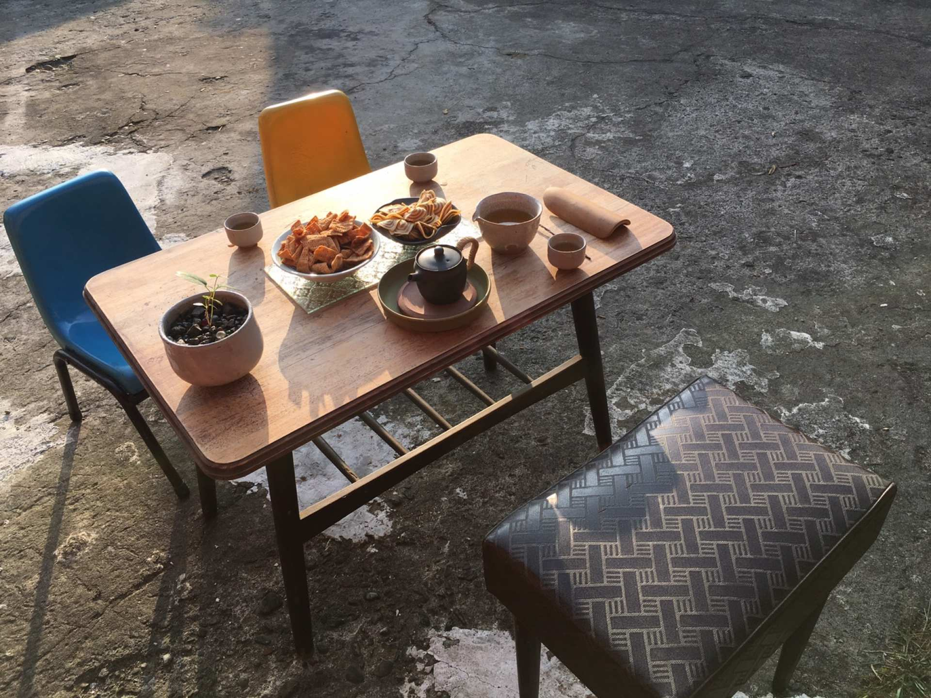 【新竹北埔茶文化】佐京茶陶|慢活三合院精緻茶席體驗