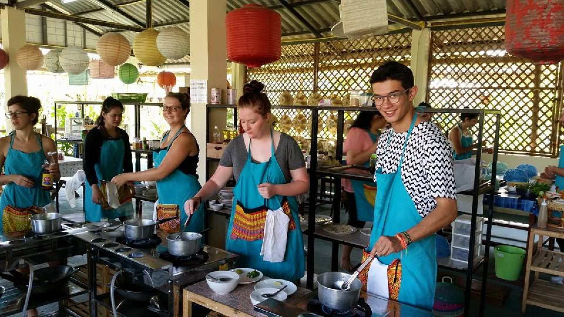 【清邁有機農場烹煮】Mama Noi 泰式料理教室烹飪體驗