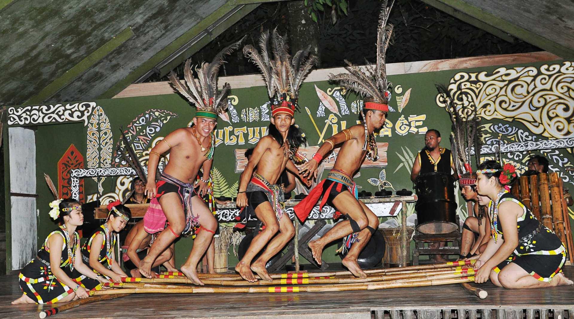 【南島原住民體驗】沙巴 Mari-Mari 文化村半日遊