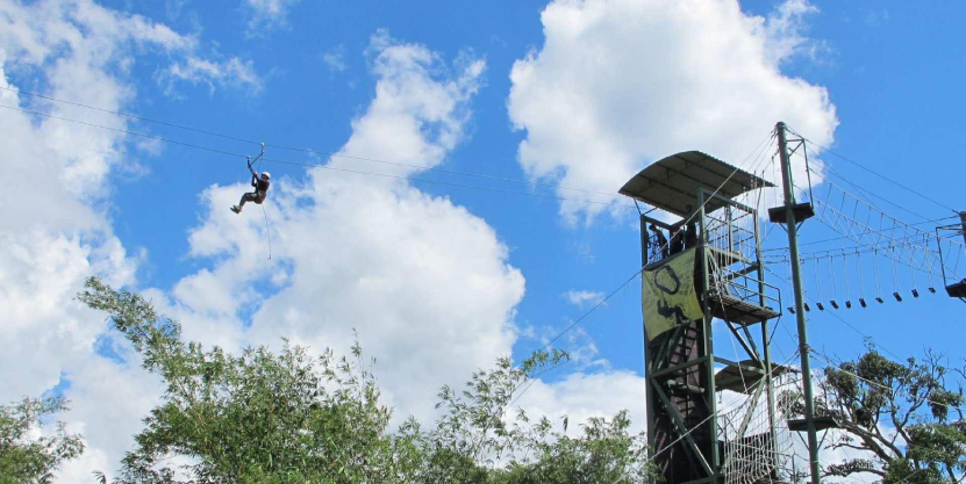 【沙巴刺激體驗】Zip Borneo 高空飛索