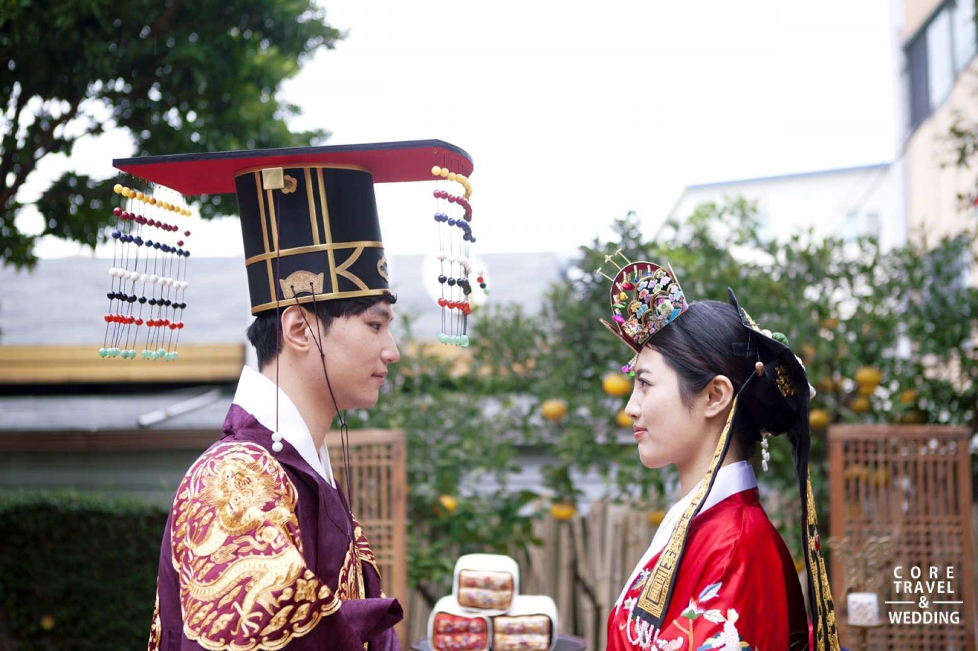 【歷久彌新的美麗】韓國傳統婚禮體驗+傳統韓服婚紗拍攝