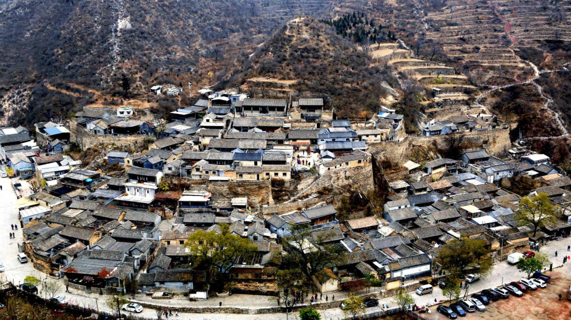 【深山峡谷中的明清古村】北京爨底下古民居村1日遊