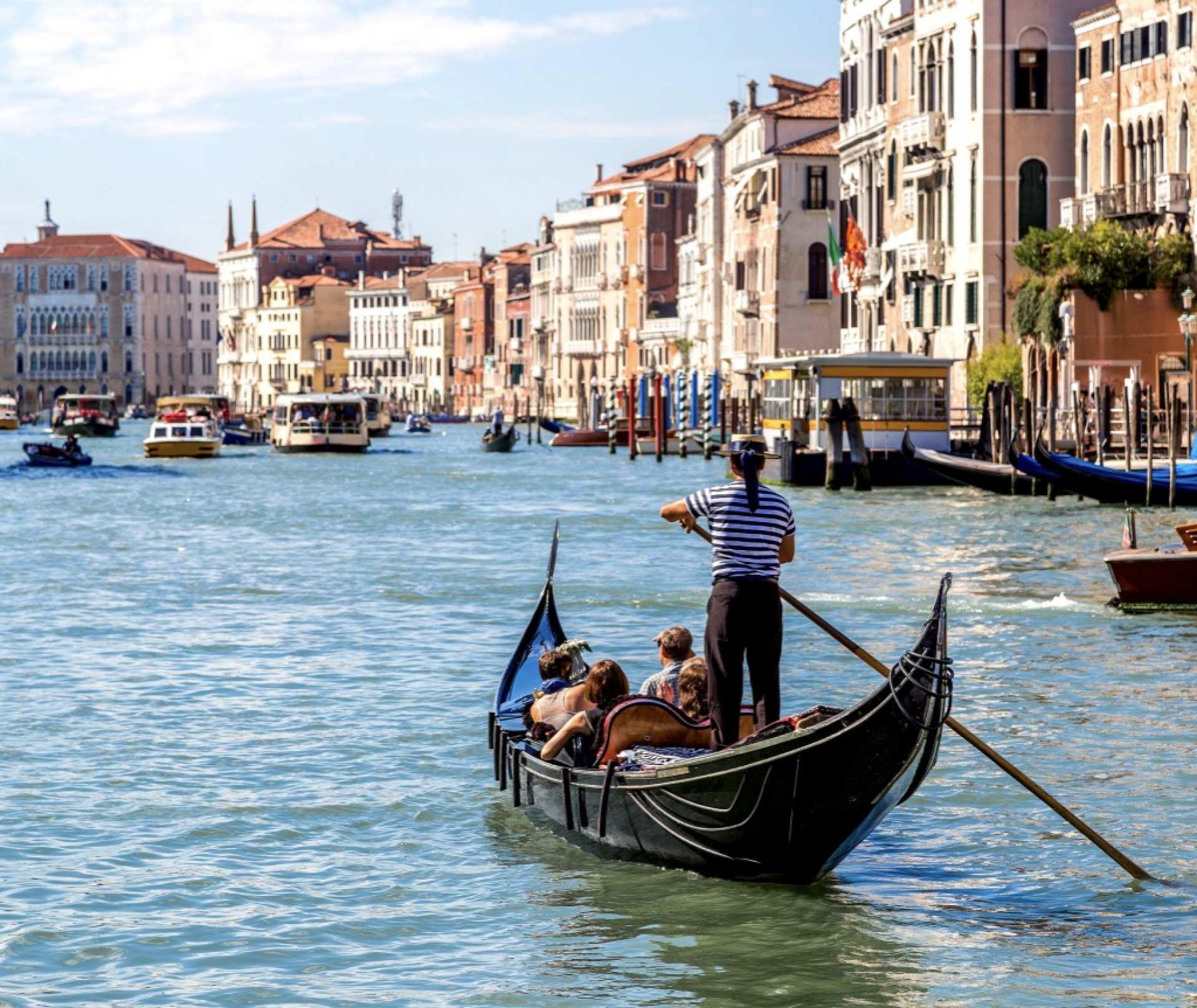 【世界遺産・水の都】ヴェネツィア:ゴンドラの旅