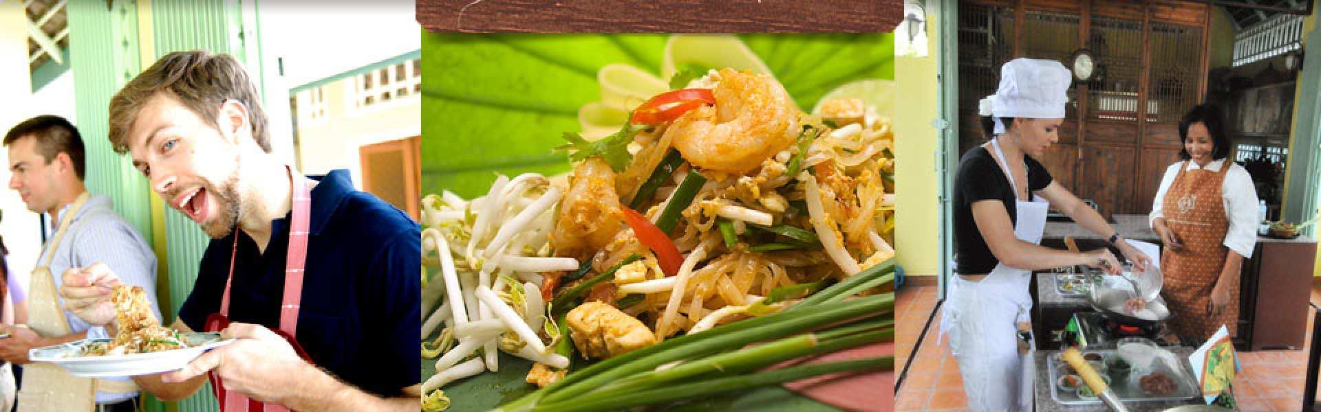 【バンコク】人気料理教室:アミタ・タイ・クッキングクラス(ホテル送迎付き)