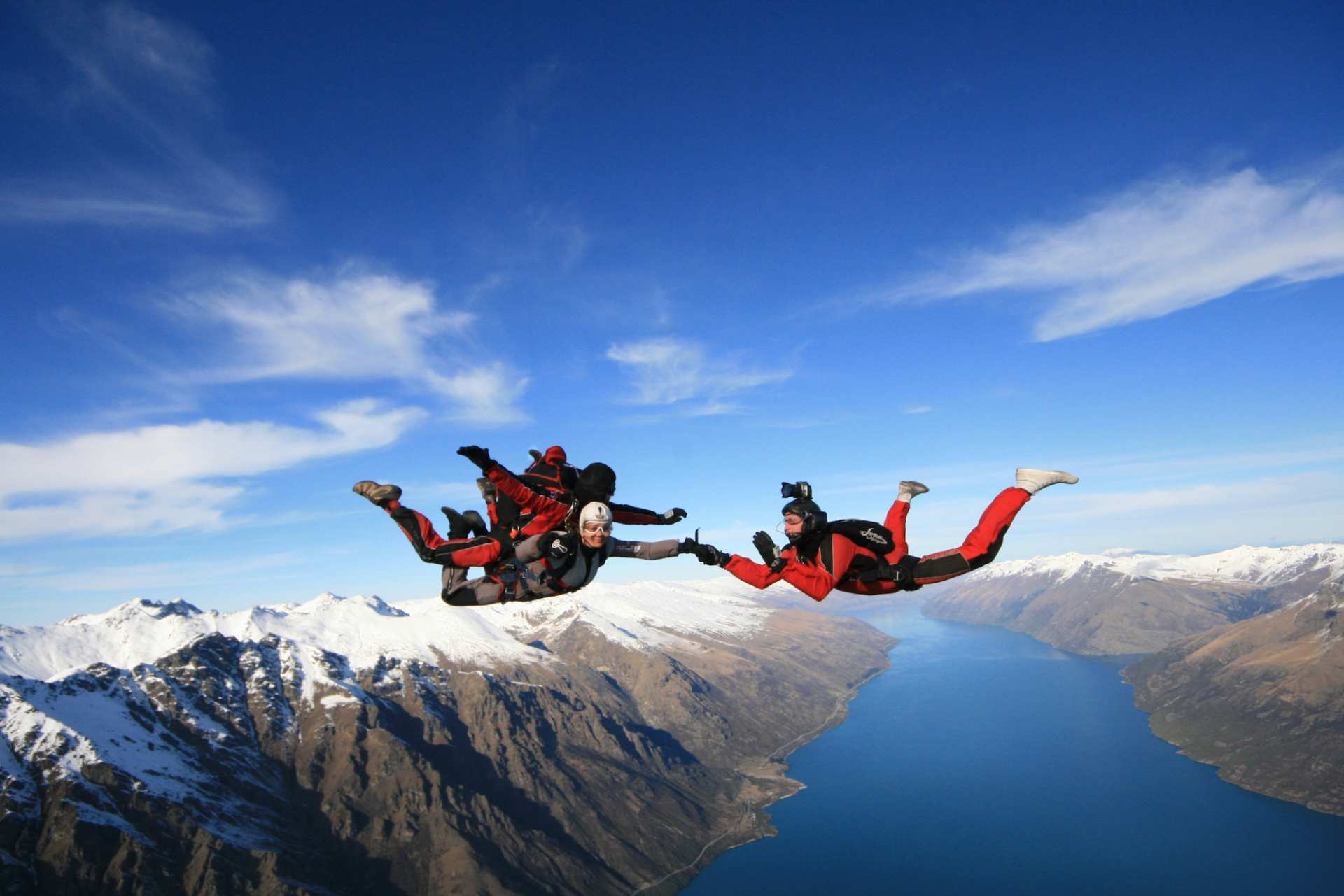 【紐西蘭高空跳傘】皇后鎮 Nzone Skydive 高空跳傘體驗