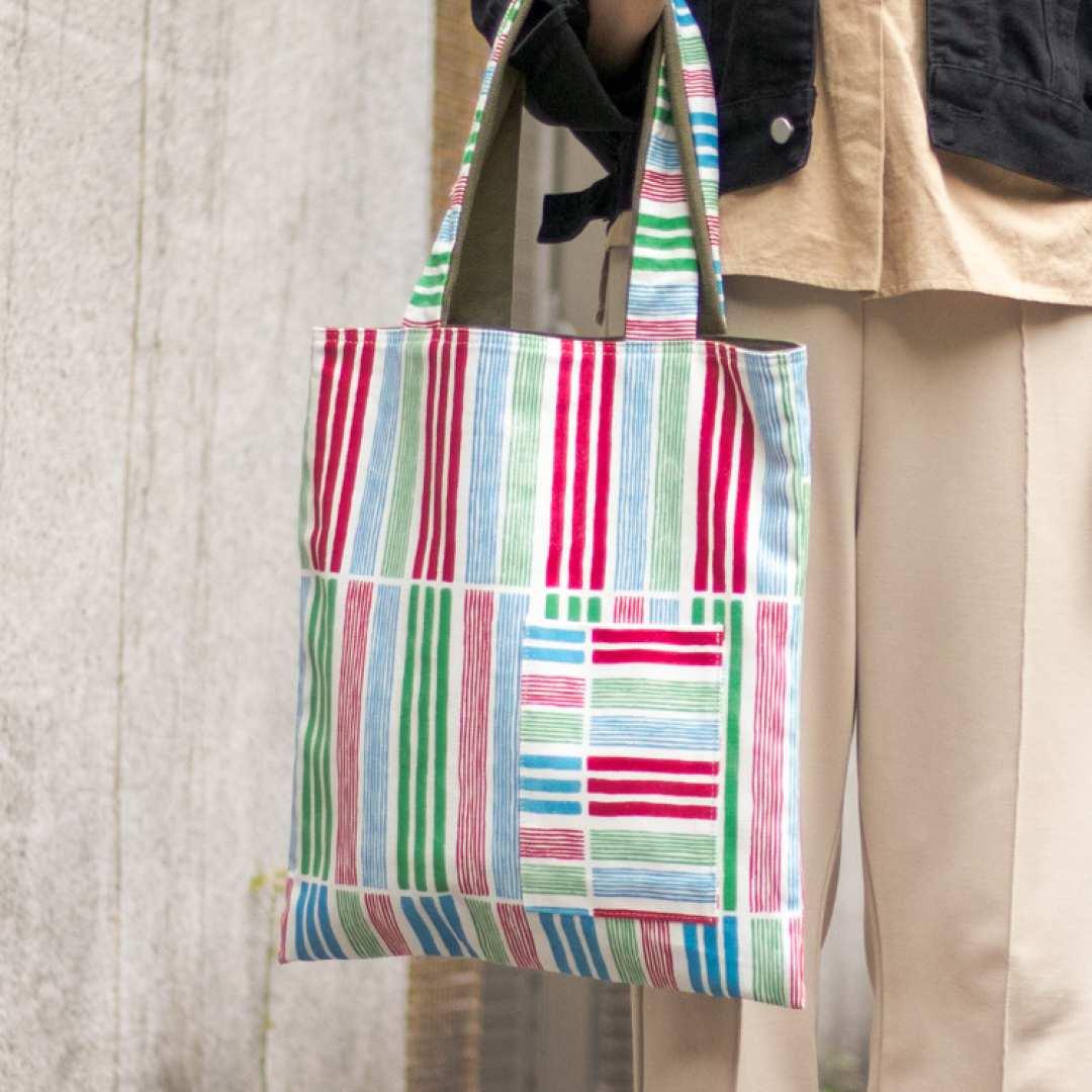おうちで台湾|来好(ライハオ) キャンバストートバッグ|日本国内配送|送料無料