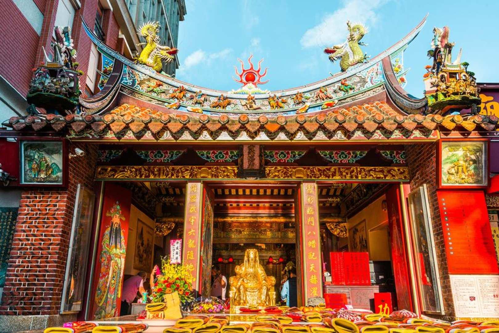 おうちで台湾|台湾の年越し気分を味わう!迪化街巡り+霞海城隍廟お参りオンラインツアー|Zoom利用・新春福袋付きプランあり