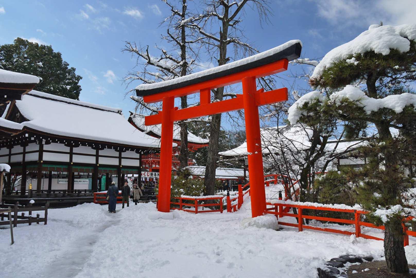 京都の年末詣日帰りツアー 下鴨神社・知恩院・八坂神社 京都発