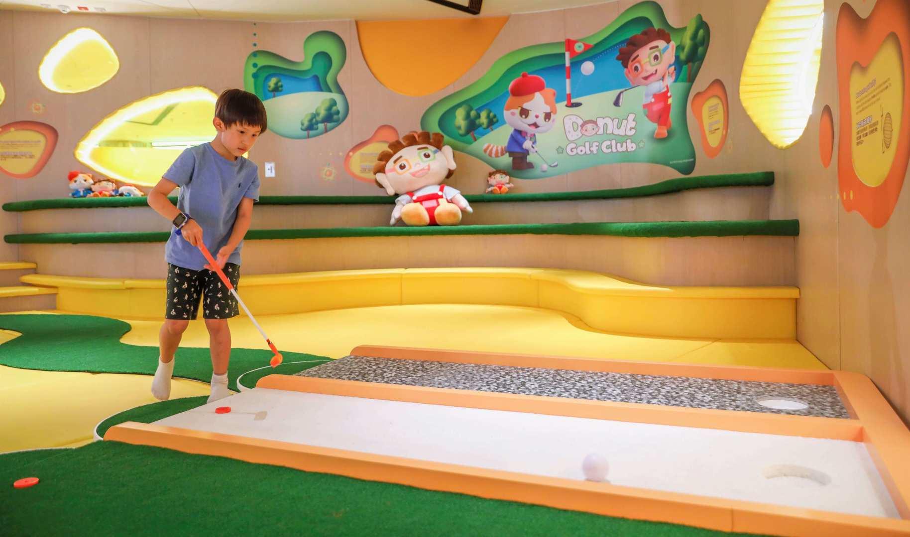 Donut Golf Club 兒童高爾夫球