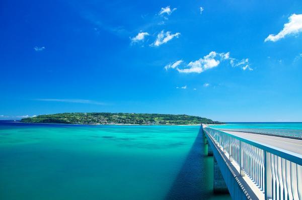 【【沖繩中北部】美麗海水族館/植物園二選一:古宇利島、琉球村巴士一日遊(含門票)