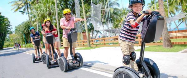 新加坡聖淘沙 | Gogreen Segway| Fun Ride電動滑板車體驗