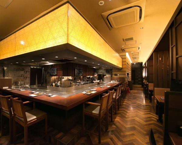 【【銀座鐵板燒】東京銀座鐵板燒餐廳・鉄板や上方御堂銀座八丁目店