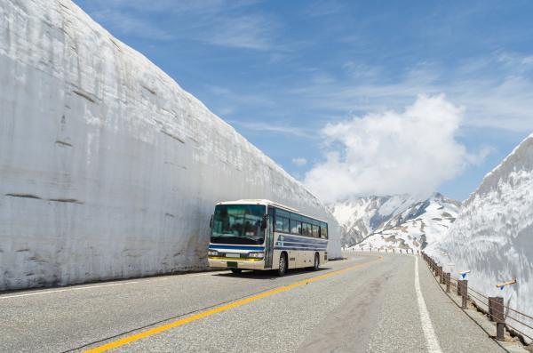 【【大阪巴士二日遊】立山黑部大雪壁、白川鄉、飛驒高山