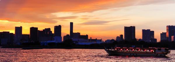 【【屋形船體驗】東京灣日式屋形遊船晚宴・安美幸