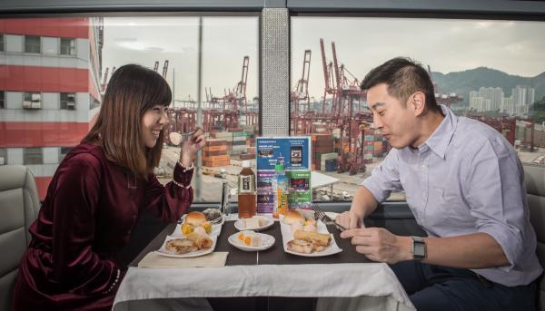 【【透明巴士遊香港】香港水晶巴士餐廳體驗