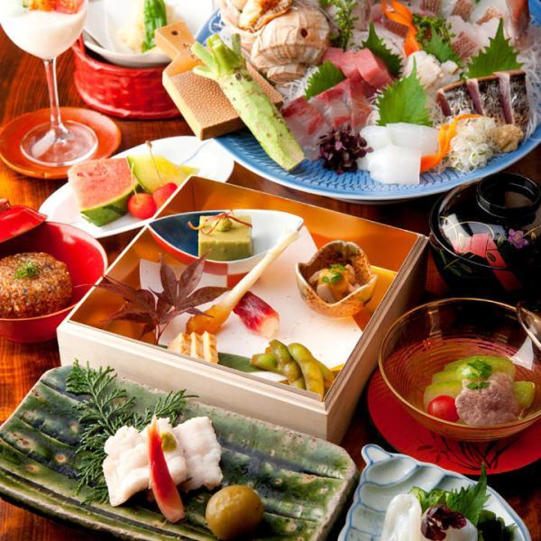 【【東京美食】高級日本割烹料理餐廳・神田 新八 2家分店