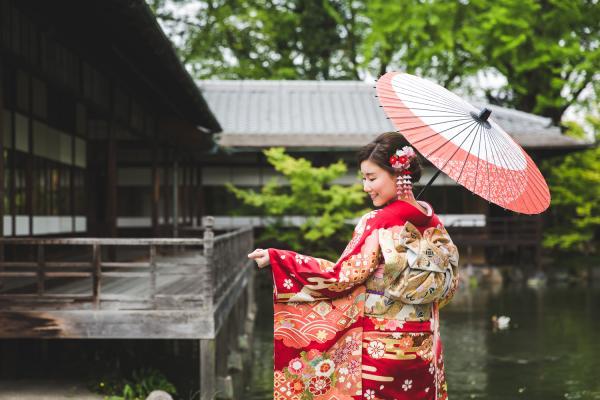 【【京都和服】日本最傳統華麗的華美服飾-振袖\/紋付袴體驗