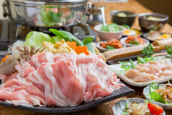 【【京都美食】豬肉涮涮鍋吃到飽・豚しゃぶ英京都四条烏丸店