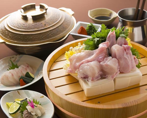 【【大阪美食】難波河豚料理餐廳・天然ふぐ・はも 美津富