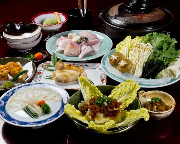 【【大阪美食】北新地梅田河豚料理餐廳・天然ふぐ料理 堂島幸鶴