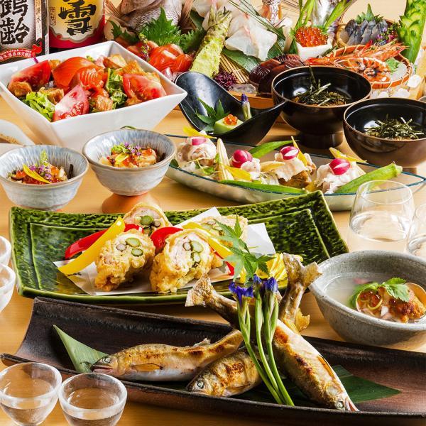 【【東京美食】新橋日式居酒屋・旬魚と個室 和食りん 新橋店